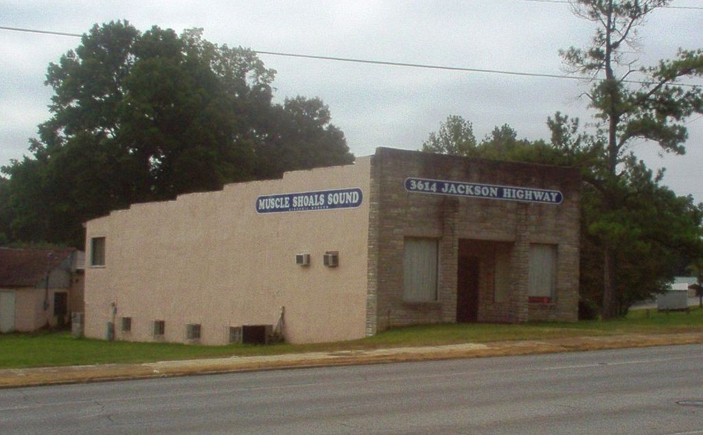Muscle Shoals Sound Studio, photo from Daily Neworks